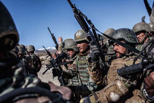 Front Lines with Afghan Commandos