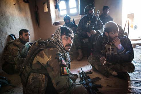 Overworked Afghan Force