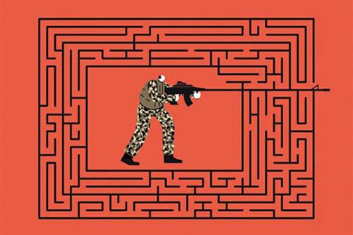 Soldier in a Maze
